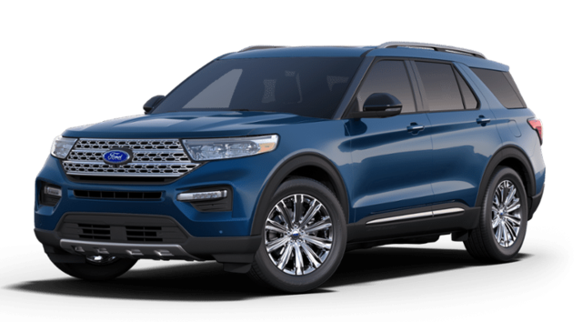 New 2020 Ford Explorer Limited SUV for sale in Hobart, IN
